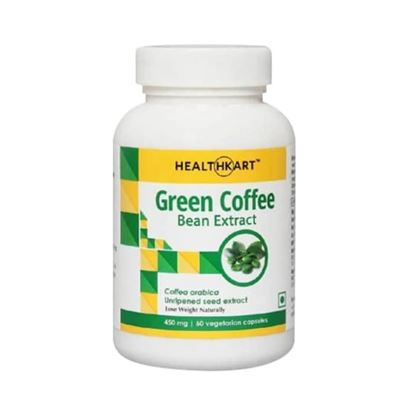Picture of HealthKart Green Coffee Bean Extract Capsule