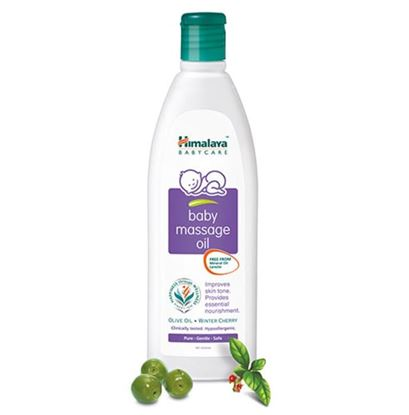 Picture of Himalaya Baby Massage Oil