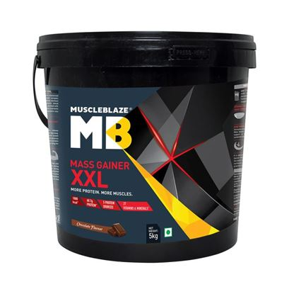 Picture of MuscleBlaze Mass Gainer XXL Chocolate